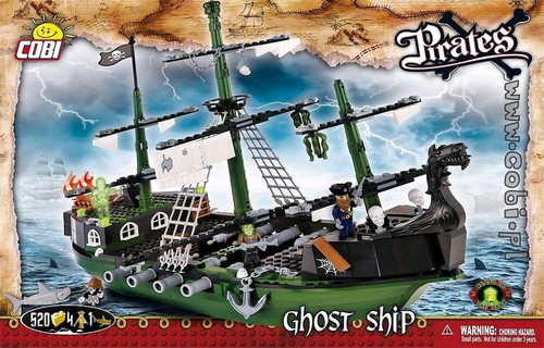 Pirates - 520 piece Ghost Ship-COB6017