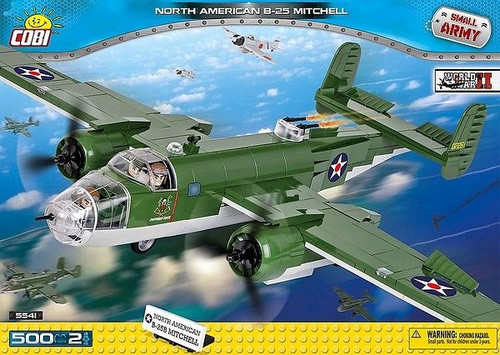 Small Army - 500 piece North American B-25 Mitchell-COB5541