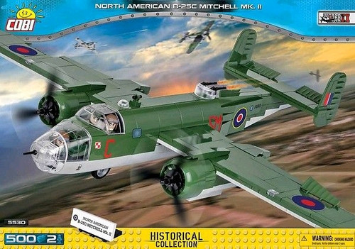 Small Army - 500 piece North American B-25C Mitchell Mk II-COB5530