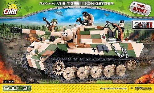 Small Army - 600 piece PzKpfw VI B Tiger II (Konigstiger)-COB2480