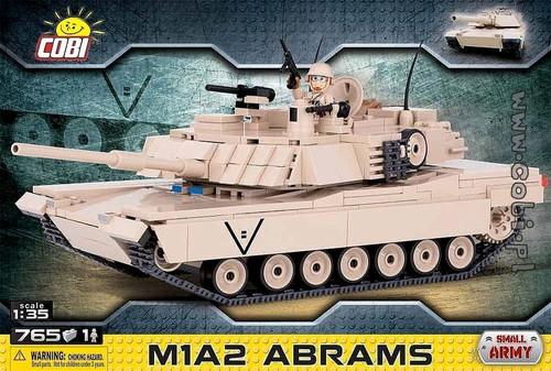 Small Army - 765 piece M1A2 Abrams-COB2608