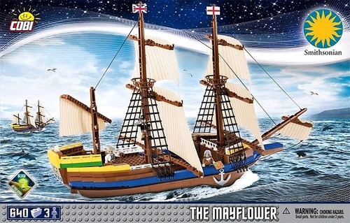 Smithsonian - 640 piece The Mayflower (640 pcs)-COB21077