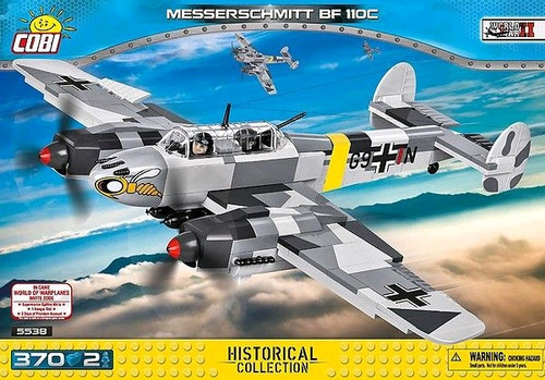 World War II - 410 piece Messerschmitt BF 110C-COB5538