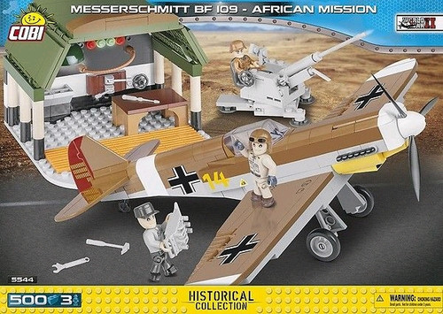World War II - 500 piece Messerschmitt BF 109 African Mission-COB5544