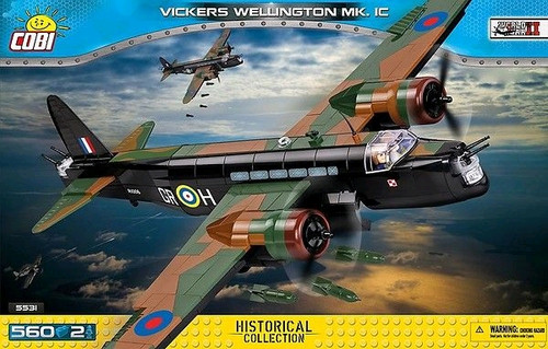 Small Army - 560 piece Vickers Wellington Mk 1C-COB5531