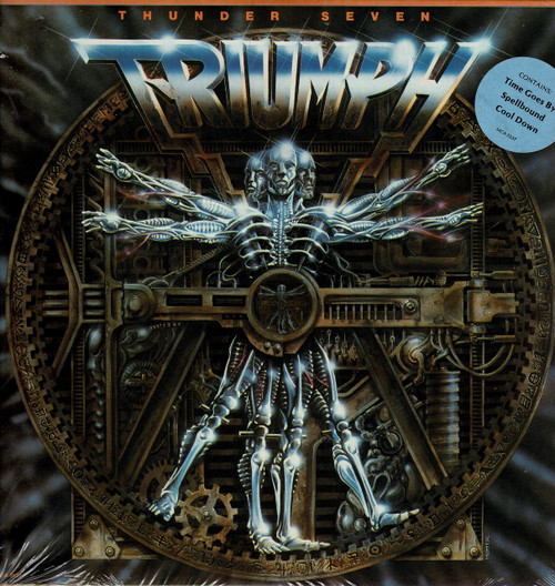 TRIUMPH-Thunder Seven Vinyl LP-Brand New-Still Sealed
