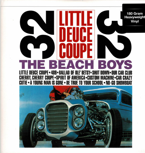 BEACH BOYS -Little Deuce Coupe (180 gram) Vinyl LP-Brand New-Still Sealed