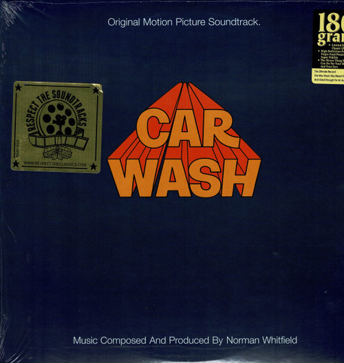 CAR WASH (2 LP's 180 gram)-Original Motion Picture Soundtrack Vinyl LP-Brand New-Still Sealed