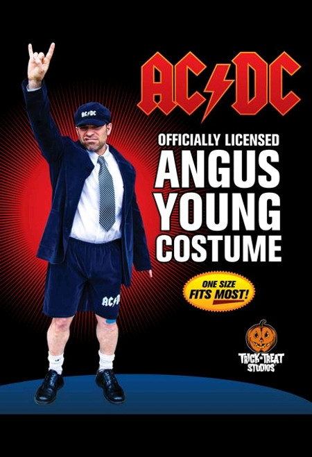 AC/DC - Angus Young Adult Costume-TTSTTER100