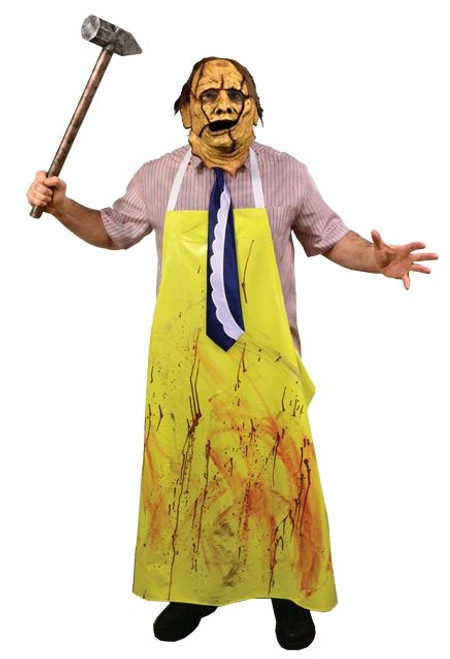 The Texas Chainsaw Massacre - Costume & Mask Combo Adult-TTSTTRL101