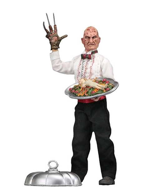 """A Nightmare on Elm Street - Chef Freddy 8"""" Action Figure-NEC14957"""