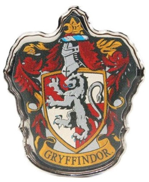Harry Potter - Gryffindor Enamel Badge-HMBPBADHP01