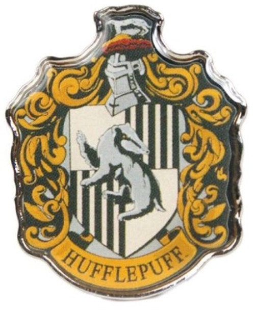 Harry Potter - Hufflepuff Enamel Badge-HMBPBADHP04