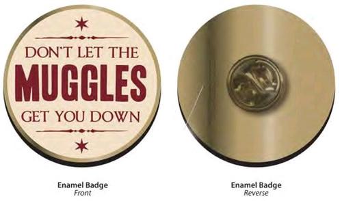 Harry Potter - Muggles enamel Badge-HMBPBADHP20