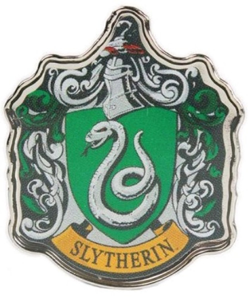 Harry Potter - Slytherin Enamel Badge-HMBPBADHP02