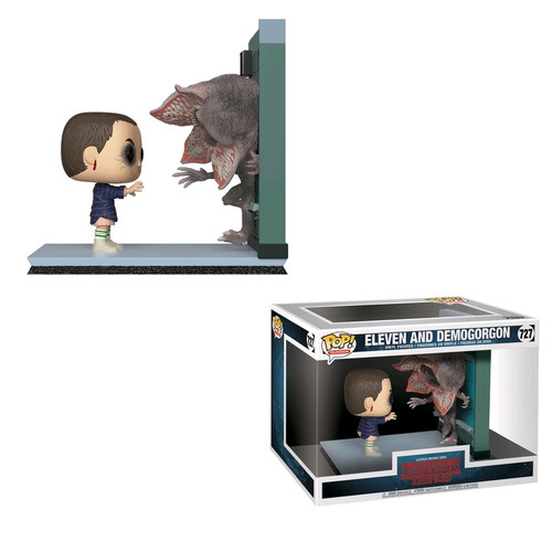 Stranger Things - Eleven & Demogorgon Movie Moments Pop! Vinyl-FUN35033