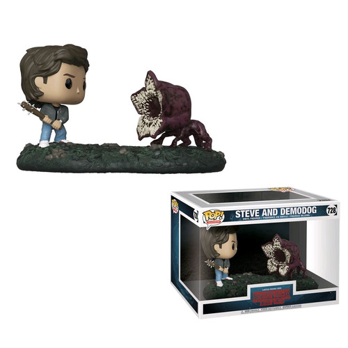 Stranger Things - Steve vs Demodog Movie MomentsPop! Vinyl-FUN35034