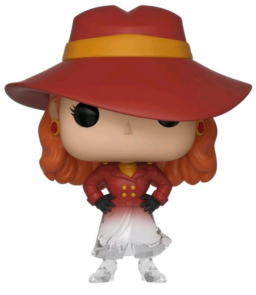 Where in the World is Carmen Sandiego - Carmen Sandiego Fade US Exclusive Pop! Vinyl [RS]-FUN32452