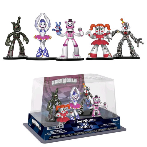 Five Nights at Freddy's: Sister Location - Hero World 5-pack [RS]-FUN30483