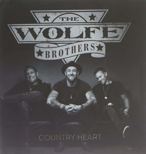The Wolfe Brothers- Country Heart CD-Brand New/Still sealed