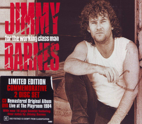 Jimmy Barnes- For the working class man LTD CD/DVD-Brand New/Still sealed