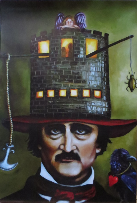 Edgar Allan Poe - Poster-Laminated Available-90cm x 60cm-Brand New