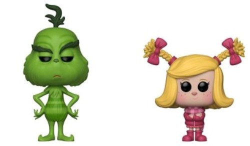 The Grinch (2018) - Grinch & Cindy Lou US Exclusive Pop! Vinyl 2-pack [RS]-FUN35271