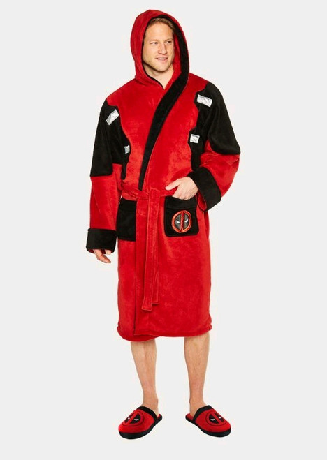 Deadpool - Fleece Bathrobe-GVY91803