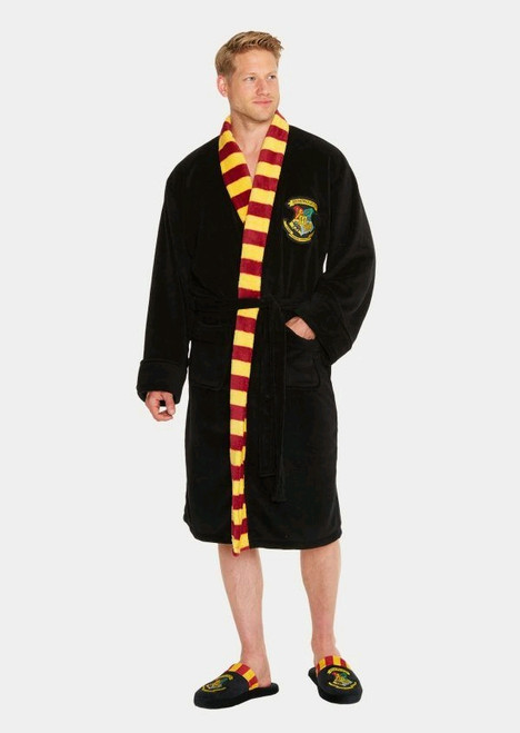 Harry Potter - Hogwarts Fleece Bathrobe-GVY91634