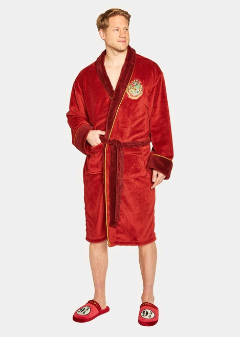 Harry Potter - Platform 9 3/4 Fleece Bathrobe-GVY91897