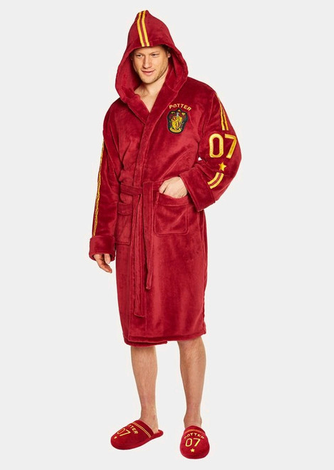 Harry Potter - Quidditch Fleece Bathrobe-GVY91684