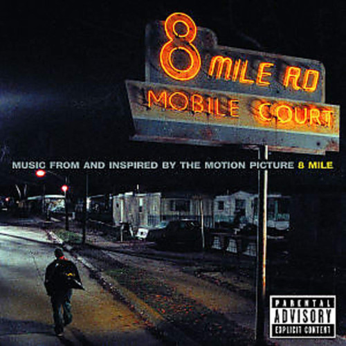 EMINEM-'OST - 8 MILE vinyl LP-Brand new/Still Sealed