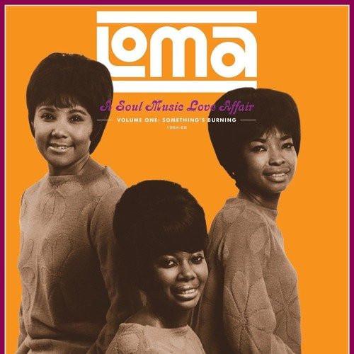 VAR-LOMA: A SOUL MUSIC LOVE AFFAIR-SOMETHING'S BURNING-VOL. 1 vinyl LP-Brand new/Still Sealed