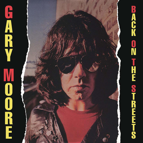 MOORE, GARY-'BACK ON THE STREETS vinyl LP-Brand new/Still Sealed