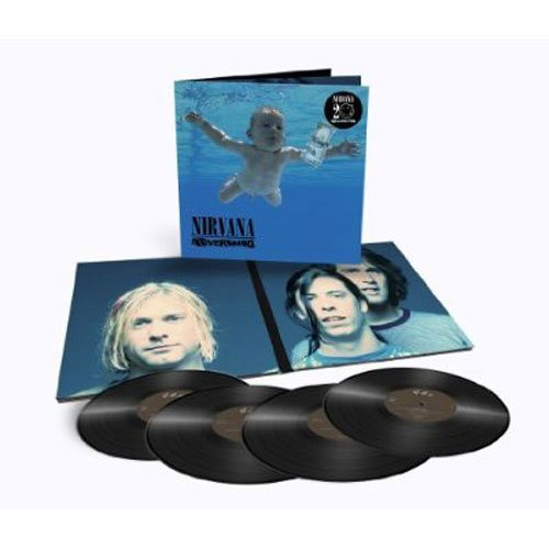 NIRVANA-'NEVERMIND - DELUXE EDITION [4LPS] vinyl LP-Brand new/Still Sealed