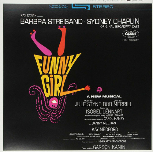 STREISAND, BARBRA-'FUNNY GIRL - ORIGINAL BROADWAY CAST vinyl LP-Brand new/Still Sealed