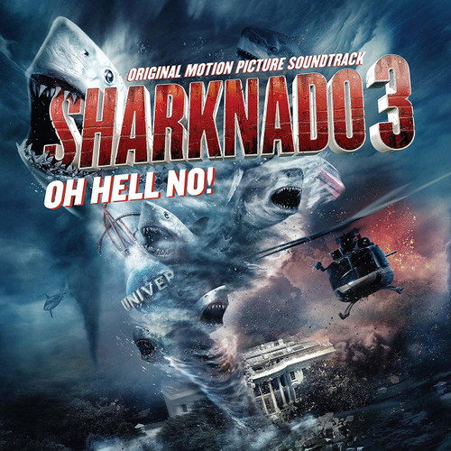 OST - SHARKNADO 3: OH HELL NO! - vinyl LP-Brand new/Still Sealed
