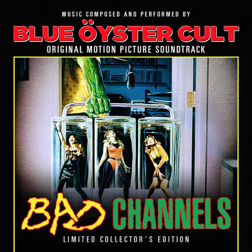 BLUE OYSTER CULT -'OST - BAD CHANNELS   vinyl LP-Brand new/Still Sealed