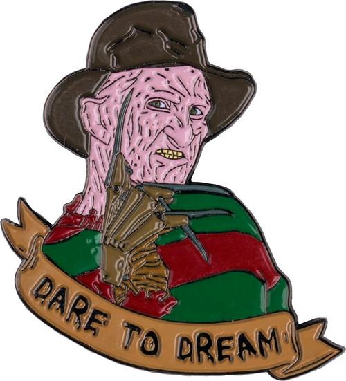 "A Nightmare on Elm Street - Freddy Krueger ""Dare to Dream"" Enamel Pin-IKO1352"