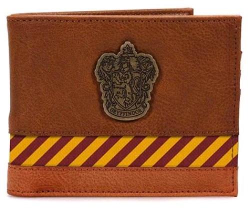 Harry Potter - Hogwarts Metal Crest Wallet-HMBWALBHP12