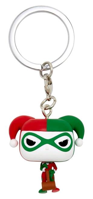Batman - Harley Quinn (Holiday) US Exclusive Pocket Pop! Keychain [RS]-FUN35325