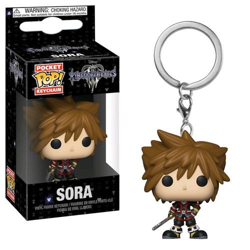 Kingdom Hearts III - Sora Pocket Pop! Keychain-FUN34065