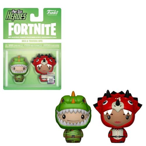 Fortnite - Rex & Tricera Ops Pint Size Hero 2-pack-FUN38029