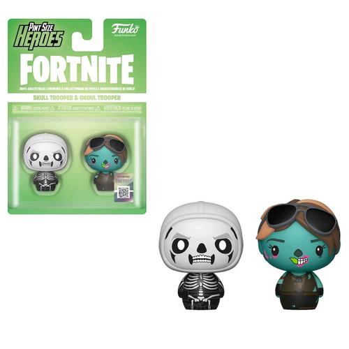 Fortnite - Skull Trooper & Ghoul Trooper Pint Size Hero 2-pack-FUN38034