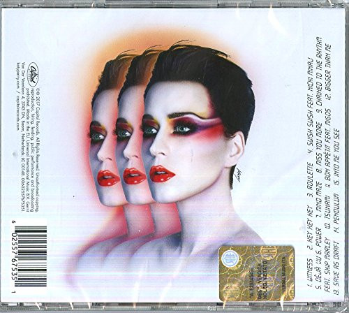 Katy Perry- Witness-Brand New/Still sealed