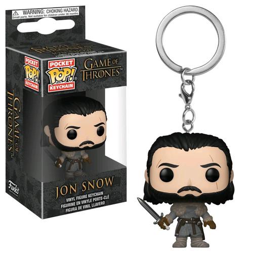 Game of Thrones - Jon Snow (Beyond) Pocket Pop! Keychain-FUN31812