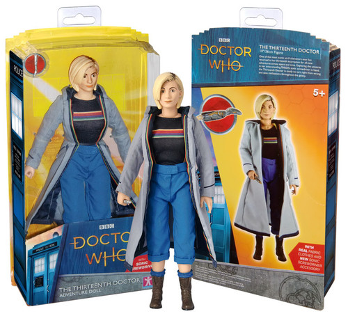 """Doctor Who - Thirteenth Doctor 10"""" Action Figure-CHA06795"""