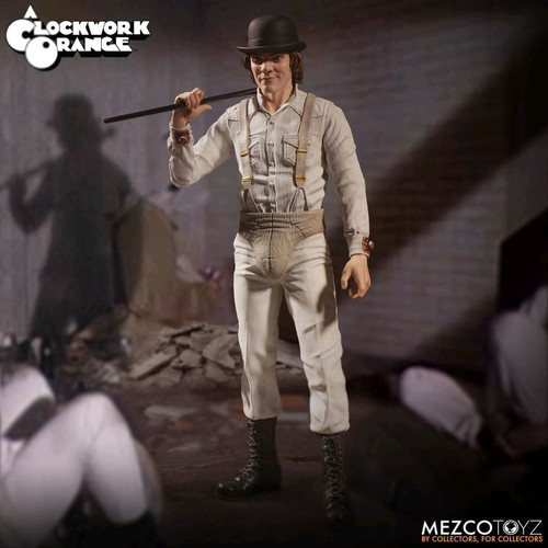 "A Clockwork Orange - Alex DeLarge 12"" 1:6 Scale Action Figure-MEZ40055"