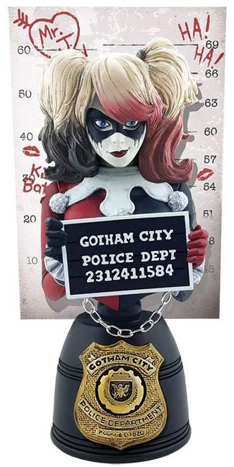Batman - Harley Quinn Mugshot Bust (Red & Black)-CRY24403