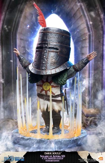 "Dark Souls - Solaire of Astora SD 9"" PVC Statue-F4FDSSOLSDR"